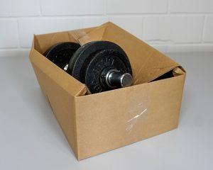 Self-adhesive or parcel tape